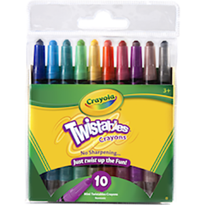Mini Twistable Crayons 10s