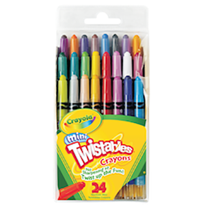 Mini Twistable Crayons 24s