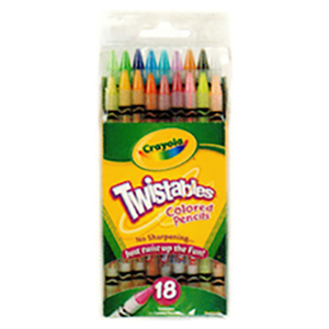 Twistable Colored Pencils 18s