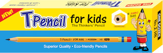 T Pencil For Kids 12s