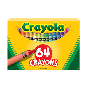 Crayons 64s