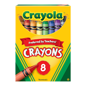 Crayons 8s