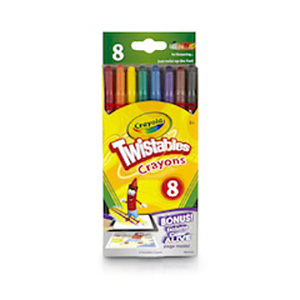 Twistable Crayons 8s