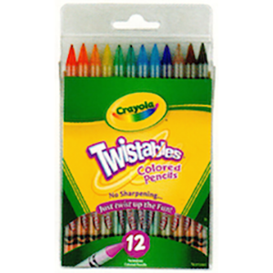 Twistable Colored Pencils 12s