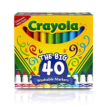 Ultra-Clean Washable Marker 40ct